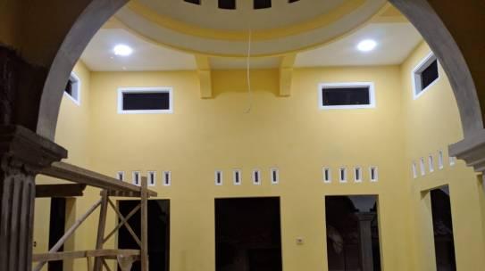 Progress Renovasi Masjid Ar-Rahman Kab. Pangandaran